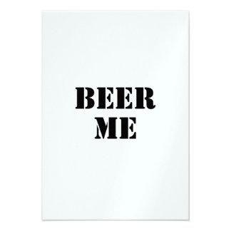 Cerveza yo anuncio personalizado