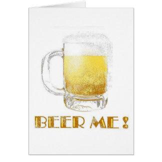 ¡Cerveza yo Felicitacion