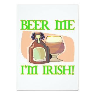 Cerveza yo irlandés Im Invitación 12,7 X 17,8 Cm
