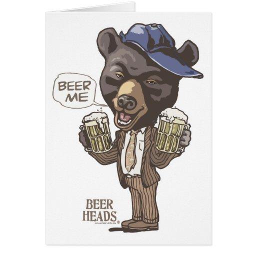 Cerveza yo oso por los estudios de Mudge Felicitación