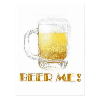 ¡Cerveza yo! Postal