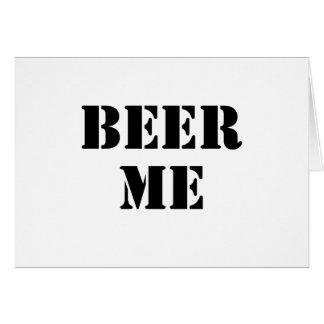 Cerveza yo felicitaciones