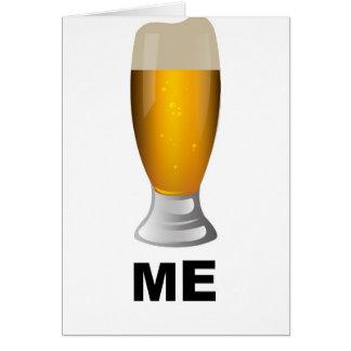Cerveza yo tarjeta