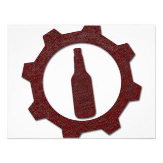 Cervezas Invitaciones Personalizada
