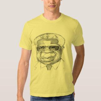 Césaire caricatura camisetas