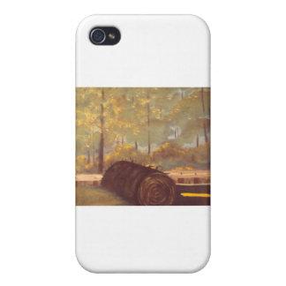 Césped de Astro iPhone 4 Cárcasas