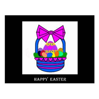 Cesta de Pascua (día de fiesta) Postal