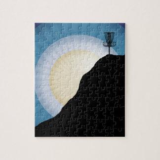 Cesta en una montaña puzzle