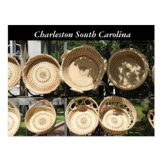 Cestas tejidas fotografía, SC de Charleston Postal