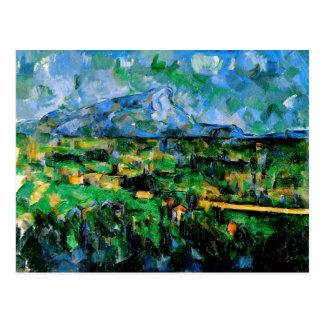 Cezanne - Mont Sainte Victoire Postal