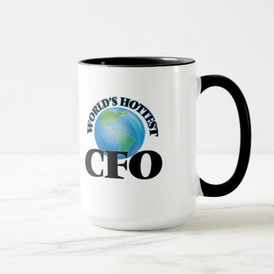 Cfo más caliente del mundo taza
