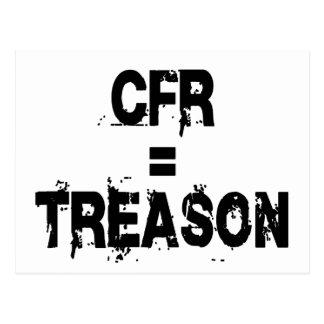 CFR = traición Tarjeta Postal
