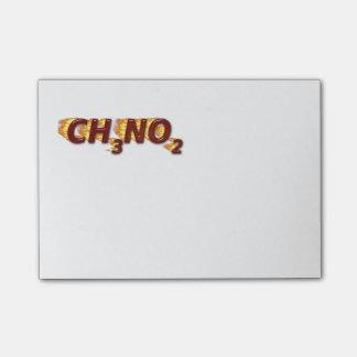 CH3NO2 - Nitro Notas Post-it®