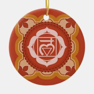 Chakra 1 - 1r Chakra raíz Muladhar Ornaments Para Arbol De Navidad