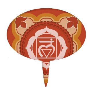 Chakra 1 - 1r Chakra raíz Muladhar Decoraciones De Tartas