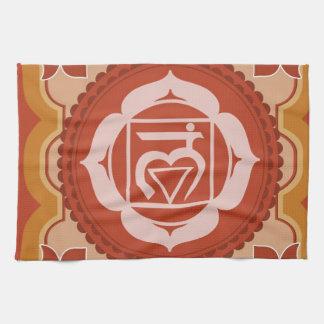 Chakra 1 - 1r Chakra raíz Muladhar Toalla De Mano