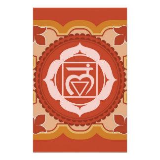 Chakra 1 - 1r Chakra raíz Muladhar Papeleria