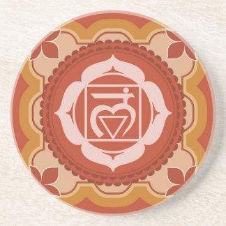 Chakra 1 - 1r Chakra raíz Muladhar Posavasos Personalizados
