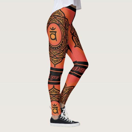 Chakra sacro tribal céltico leggings