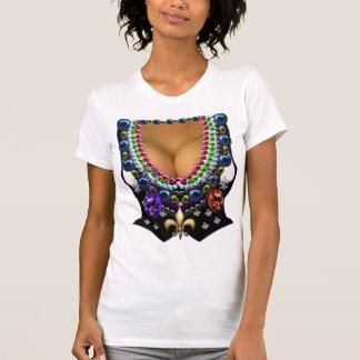 Chaleco del carnaval con la camiseta de las gotas