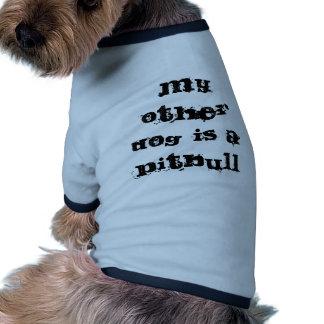 Chalecos del perro - mi otro perro es un Pitbull Ropa Perro
