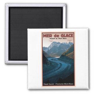 Chamonix - Mer de Glace Iman De Frigorífico