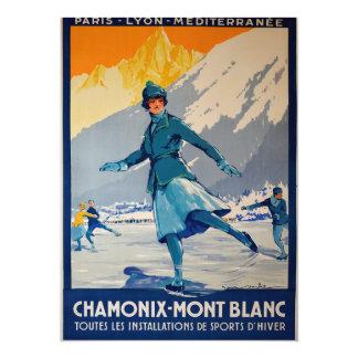 Chamonix - Mont Blanc Invitación 13,9 X 19,0 Cm