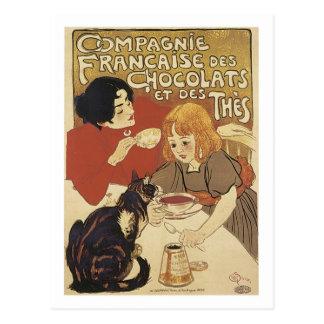 Champán Francais Chocolats y vintage A del DES The Postal