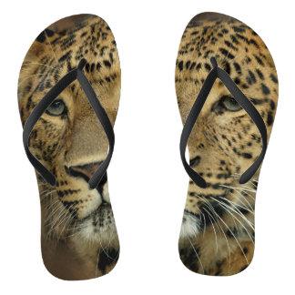 Chanclas Amante del estampado leopardo
