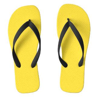 Chanclas Amarillo del plátano