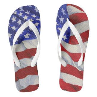 Chanclas Bandera americana - flips-flopes