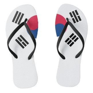 Chanclas Bandera surcoreana