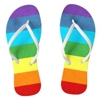 Chanclas El arco iris jadea unicornio