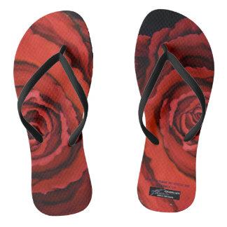 """Chanclas """""""" El flip-flop color de rosa de Rosanne Coty"""