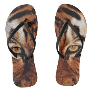 Chanclas Estampado de animales del tigre