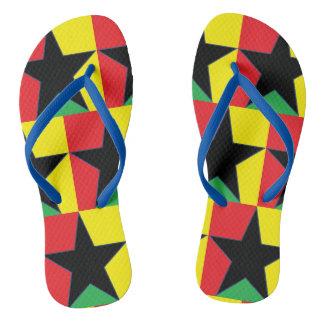 Chanclas Flips-flopes de la estrella del reggae