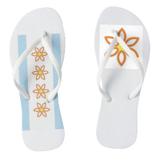 Chanclas Flips-flopes de la flor de Chicago