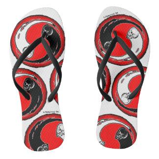 Chanclas Flips-flopes de LosMoyas Yin Yang