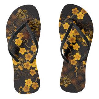 Chanclas Flips-flopes de oro de Sakura