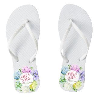Chanclas Flips-flopes de Sr. y de señora Floral Spring