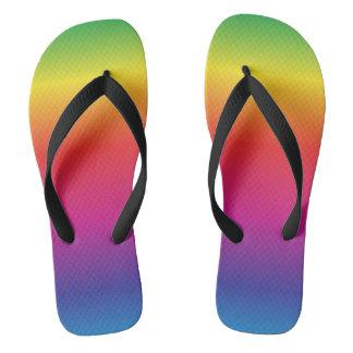 Chanclas Flips-flopes del arco iris
