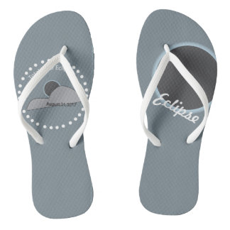 Chanclas Flips-flopes del eclipse solar