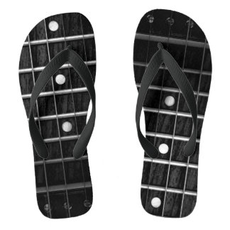 Chanclas Flips-flopes del monocromo de Fretboard de la