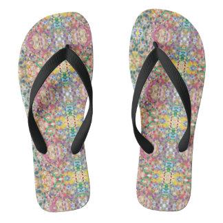Chanclas Flips-flopes del verano de las mujeres
