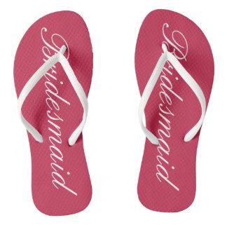 Chanclas Flips-flopes elegantes del boda de playa para las