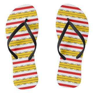 Chanclas Flips-flopes españoles de la raya
