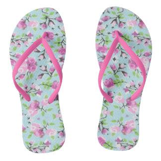 Chanclas Flips-flopes florales