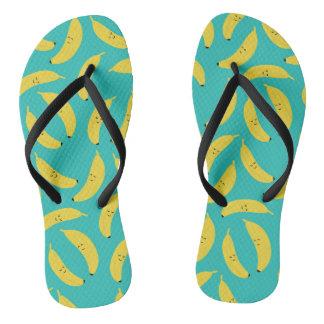 Chanclas Flips-flopes lindos del verano de la playa de los