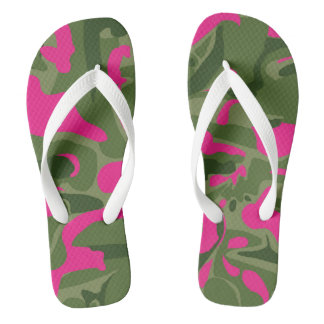 Chanclas Flips-flopes rosados de Camo