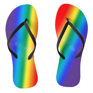 Chanclas Flips-flopes solares del arco iris